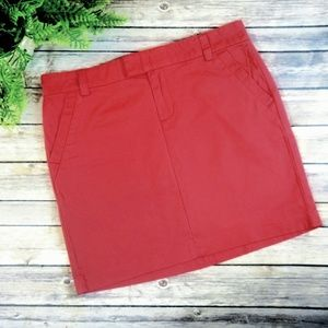 Tommy Hilfiger - Faded red pencil skirt - Size 6